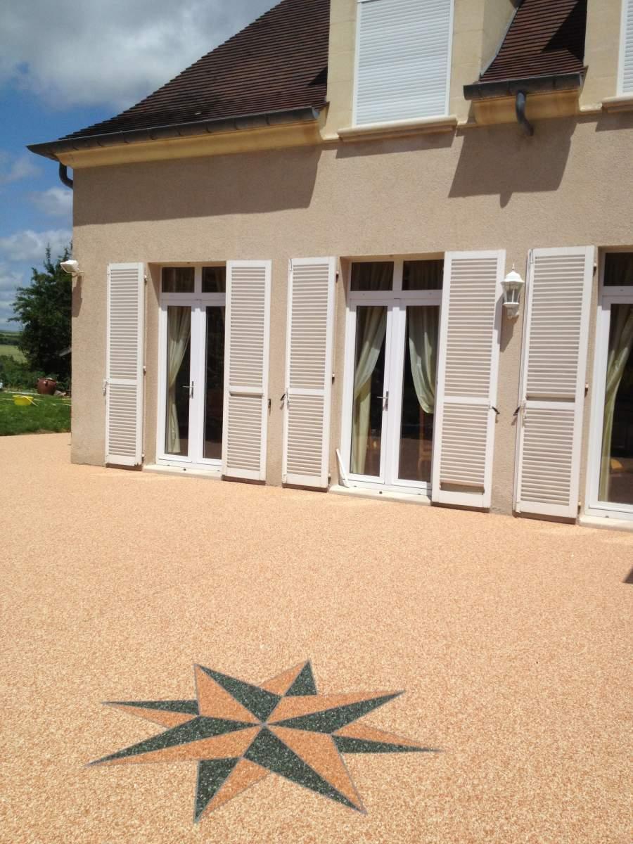 Resine Terrasse Exterieur Stunning Quel Sol Pour Ma Terrasse With Resine Terrasse Exterieur
